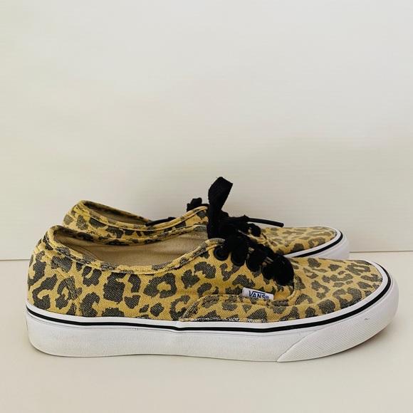 VANS Leopard Womens 8.5